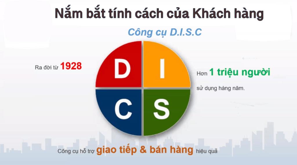 4 nhóm tính cách DISC
